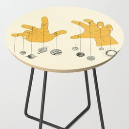 Solar System Side Table