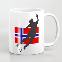 norway Mugs featuring Norway - WWC by Alrkeaton