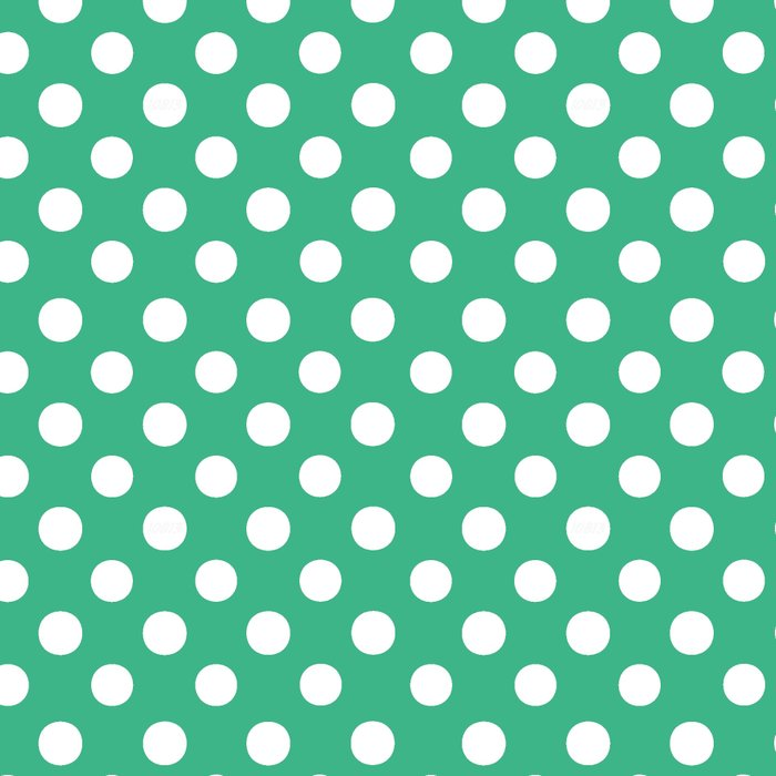 Polka Dots (White/Mint) Leggings