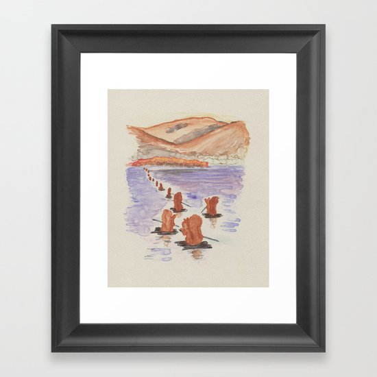 The Tale of Squirrel Nutkin Framed Art Print