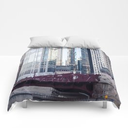 Chicago Downtown Comforters