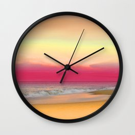 Ocean Reflections 6 Wall Clock