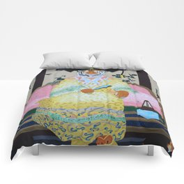 Tiger Queen Comforters