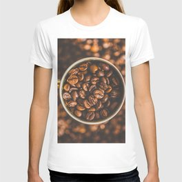 COFFEE - BEANS - PHOTOGRAPHY T-shirt