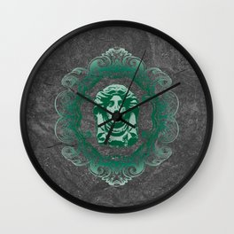 Haunted Mansion - In Regions Beyond Now Wall Clock
