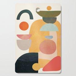 Modern Abstract Art 70 Cutting Board