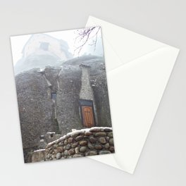 Meteora in Northern Greece Stationery Cards