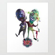 R S frnds Art Print