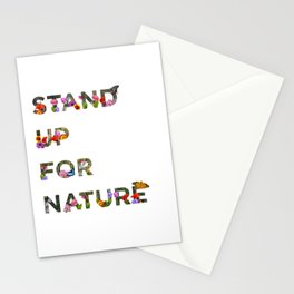 Stand Up For Nature Stationery Cards
