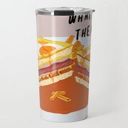 What I miss the most: Francesinha Travel Mug