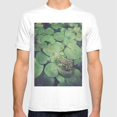 all green Mens Fitted Tee White MEDIUM