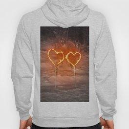 Burning hearts Hoody