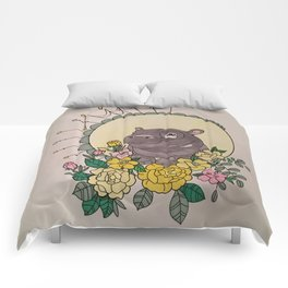 Keep your eyes open Comforters