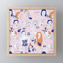 Female spirit Framed Mini Art Print