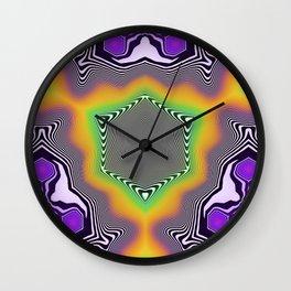 Liquid Symetry Wall Clock