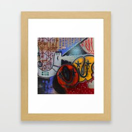 Stop in the Name  Framed Art Print