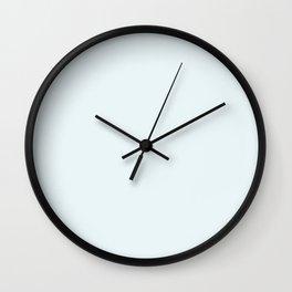 Sweet blue , simple Wall Clock