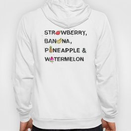 Favourite Things  - Strawberry, Banana, Pineapple & Watermelon Hoody