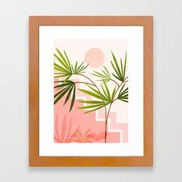 Summer in Belize Framed Art Print