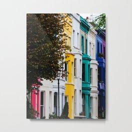 Colorful London Metal Print