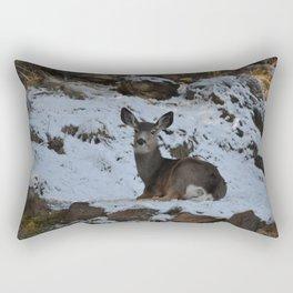 East Oregon Mule Deer Rectangular Pillow