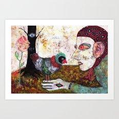 Secret Place III Art Print