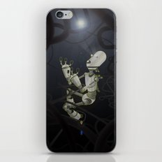 Praying to the Lord of the Universe iPhone & iPod Skin