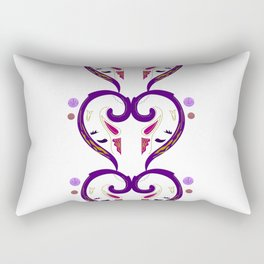 Amazing purple Hearts. Original design. Rectangular Pillow
