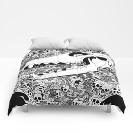 Padora's box Comforters