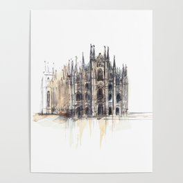 Duomo di Milano. Poster