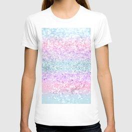 Unicorn Girls Glitter #11 #shiny #pastel #decor #art #society6 T-shirt