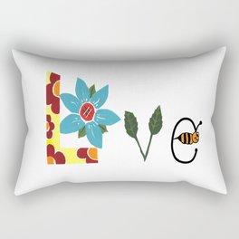 Bee Love Rectangular Pillow