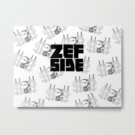 Zef Side Design Metal Print