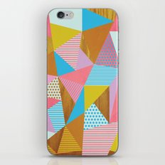 Wooden Colorful iPhone & iPod Skin