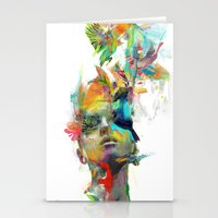 always Stationery Cards featuring Dream Theory by Archan Nair
