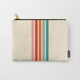 Rainbow Stripes Carry-All Pouch
