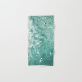 Surfing in the Ocean Hand & Bath Towel