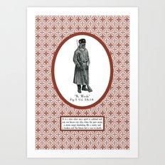 Civilian War Art Print