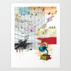War Antheme Art Print