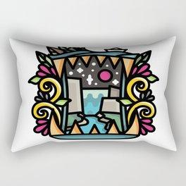 Bite Landscape Rectangular Pillow