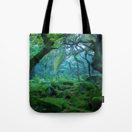 Enchanted forest mood Tote Bag
