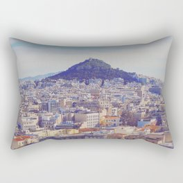 Above the City Rectangular Pillow