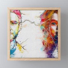 Eye Contact Framed Mini Art Print