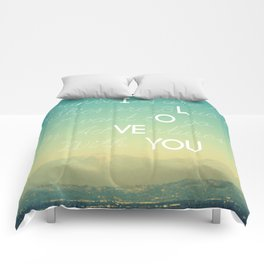Adventures and I Love You Comforters