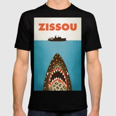 Zissou Black Mens Fitted Tee MEDIUM