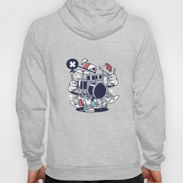 Drumset Drummers Music Lovers Musicians Drums Rock Bands Instruments Gift Hoody
