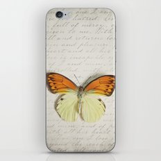 Hebomoia Glaucippe Lepidoptera iPhone & iPod Skin