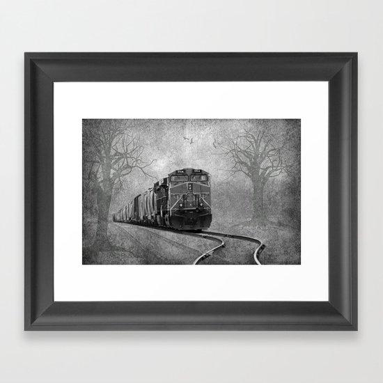 The Train Framed Art Print