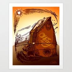 Ole Barn Art Print