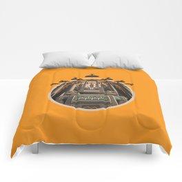 Robots Unite! crest variant Comforters